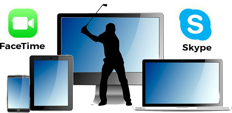 Remote Online Golf Training